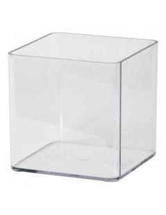 Vaso trasparente Euro3plast Cubik