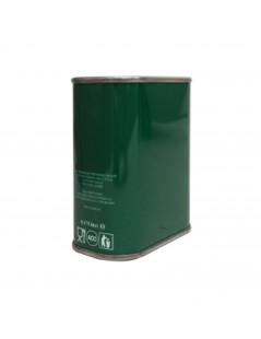 Lattina per olio verde con...