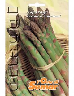 Semi di asparago precoce...