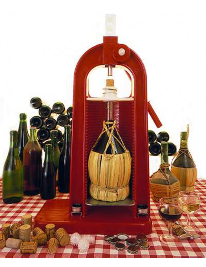 professionale vendita usa online modelli di grande varietà Tappatrice corona sughero regolabile per bottiglie e fischi - Marinaz