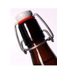 Bottiglia marrone in vetro...